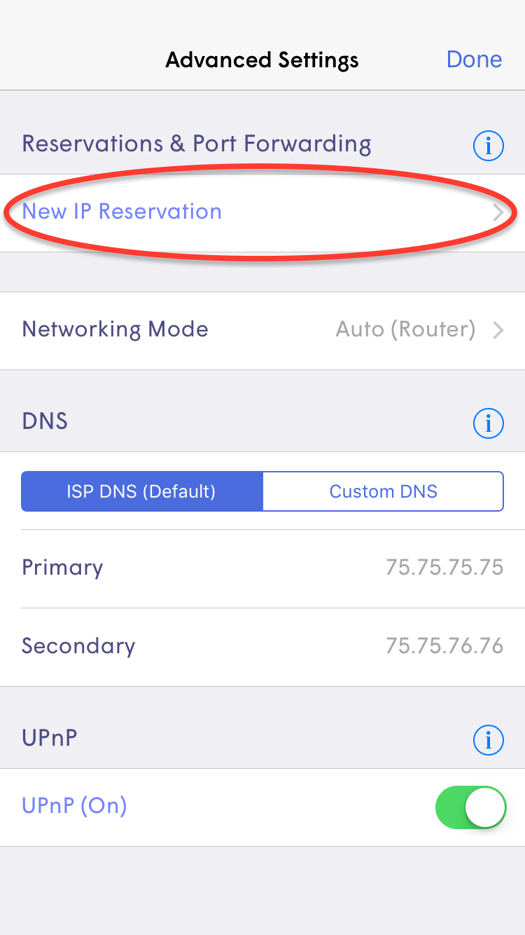 How can I reserve a static IP through the Plume App? – Plume
