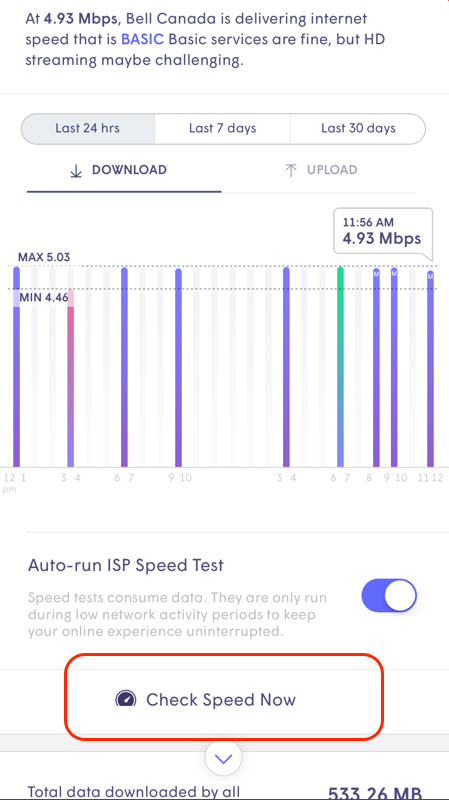 How do I view my network speeds? – Plume